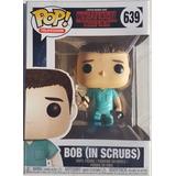 Funko Pop Stranger Things Bob In Scrubs N