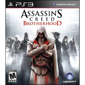 Jogo Ps3 Midia Fisica Assassins Creed Brotherhood Novo