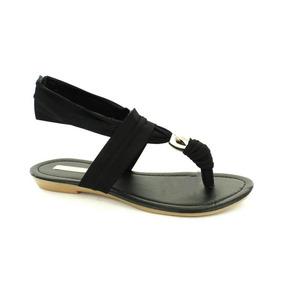 Sandalia Para Mujer Emilio Bazan 120271-032160 Color Negro