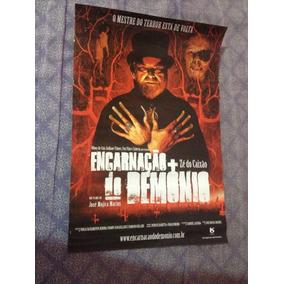 Cartaz Zé Do Caixão-42 X 19-encarnação Do Demônio