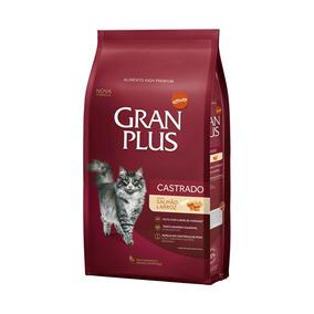Granplus Gatos Adultos Castrados Sabor Salmão E Arroz - 10kg