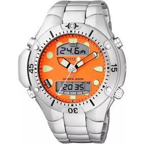 531bb028d07 Relogio Citizen Aqualand Fundo Laranja Edição Limitada - Relógios De ...
