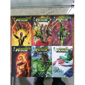 Lote Lanterna Verde Capa Dura - Dc Deluxe