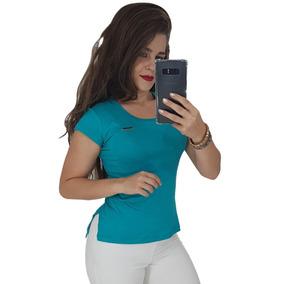 Kit 2 Blusas Camisas Camisetas Roupas Femininas Long Line
