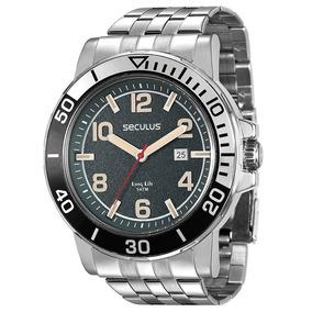 Relógio Seculus Masculino Long Life 28586g0svna1