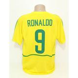 Camisa Ronaldo Fenomeno Brasil no Mercado Livre Brasil 813c1ac108aaa