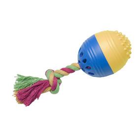 Brinquedos Para Pet - Happy Egg P - Azul E Amarelo - Pet Bri