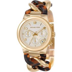a786fb44ce5f6 Relogio Feminino Mk Corrente Elos - Relógios no Mercado Livre Brasil