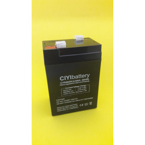 Bateria 6v 4.5 Ah P/ Motos Elétricas Infantil