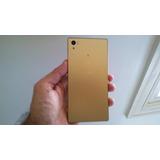 Smartphone Sony Xperia Z5 Dual E6633 Dourado - Com Defeito
