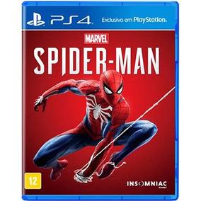 Spider-man Ps4 Mídia Física Lacrado Pt/br Pronta Entrega