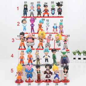 Bonecos Dragon Ball Z Super Action Figure Pronta Entrega Und