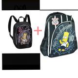72fd5f467 Lancheira Escolar Completo Simpsons no Mercado Livre Brasil