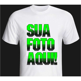 Camiseta Personalizada Cor Branca A Partir De R$6,96