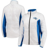 Orlando Magic G-iii 4her White/blue Grand Slam Full-zip