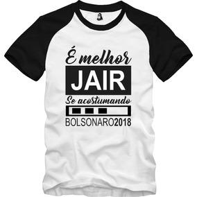 d6917c68fa Camisa Camiseta Jair Bolsonaro Presidente Poliéster