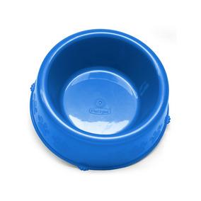 Comedouro Pet Injet Pata Azul Para Cães Filhotes - 300ml