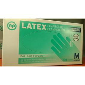 Guantes De Latex Para Examinacion En Caja Cerrada X 50 Pares