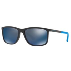 Oculos Sol Emporio Armani Ea4058 565025 58 Preto Lente Azul 7d4fb5ce61