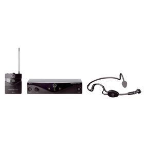 Microfone Auricular Akg Wireless 45 Sports Set Band-a Nf
