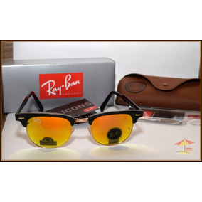 b5f213c1ee013 Lentes Sol Ray Ban Clubmaster Rb 3016 Made In Italy Original ...