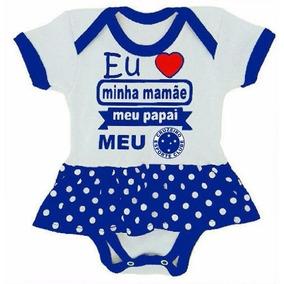 bd6584ca1a Body Cruzeiro Menino - Bodies de Bebê no Mercado Livre Brasil