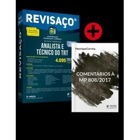 Revisaço Analista Tec Trt Tomos 1 E 2 6a Ed 2018 Juspodium