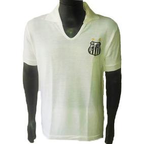0709a091e4 Camisa Santos Jamelli Retro - Camisetas Manga Curta para Masculino ...