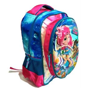 08532e94a0 Mochila Escolar Infantil Feminina 3d Happy Time Promoção