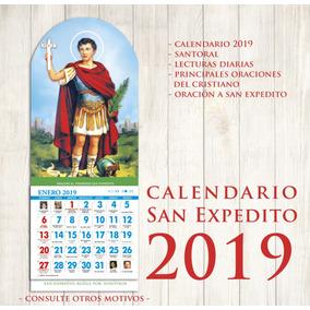 Calendarios 2019 San Expedito - 50 Unidades