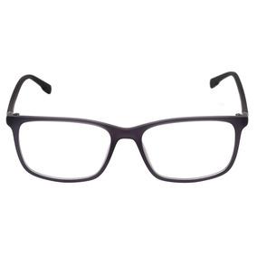 4b8d93c7cb2e5 Bulget Bg 4107 - Óculos De Grau T01 Cinza E Preto Fosco Lent