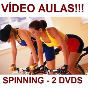 Curso De Spinning Aulas Em 2 Dvds Jkl