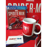 Marvels Spiderman Ps4 Disponible+ Taza