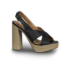 Zapatos Cuña Taco Chino De Yute - Sandalias de Mujer en Mercado ... 6ee408fdd49