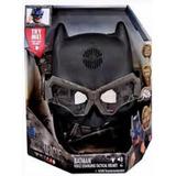 Casco Táctico Dc Justice League Batman Voces Ingles Mattel