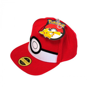 Gorra Pokemon Go Ash Pikachu Bioworld Original Anime M