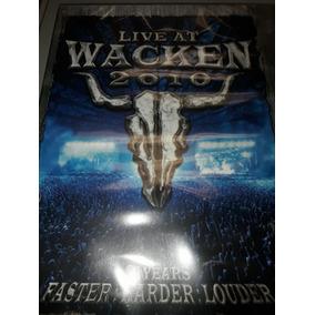 Live At Wacken 2010 Dvd Lacrado.