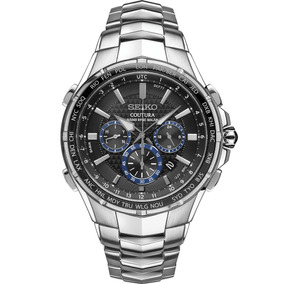 2b318390263 Relogio Seiko Coutura Hora Mundial - Relógios no Mercado Livre Brasil