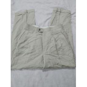 1260f0ca85 Pantalon De Lino Louis Raphael Talla 30x31 Tiene Pinza Usad