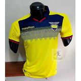 Camiseta Titular Selección Ecuador 2019