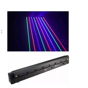 6 Ribalta Moving Beam C movimento Tilt Laser 8 Saidas 500mw e1255cf588811