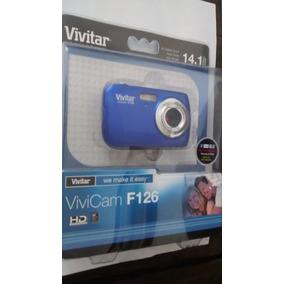 Câmera Fotográfica Vivitar 14.1 Megapixels Tela 1.8