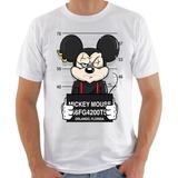 Camisa/camiseta Mickey, Minnie, Pateta, Pluto, Pato Donald