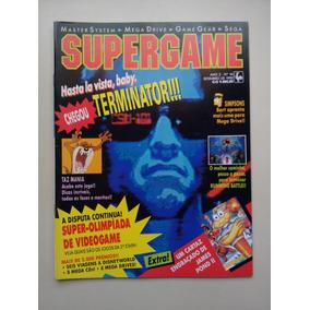 Revista Supergame 14 Taz Mania Simpsons Running Battle B071