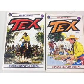 Tex Edição Gigante N. 22 E 24 (2 Revistas)