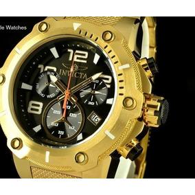 Relógio Invicta Banhado A Ouro 18k Modelo 19530 Original!!!