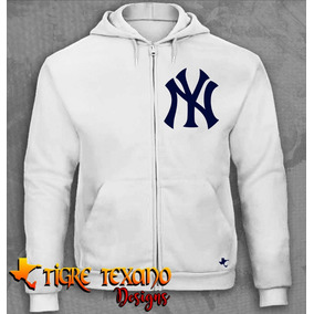 Sudadera Cierre Mlb Yankees New York 1 Tigre Texano Designs