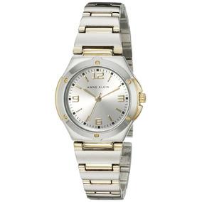 Reloj Redondo De Dos Tonos Para Mujer Anne Klein 108655sv