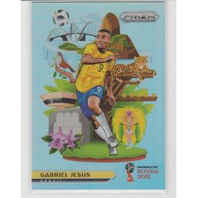 Card Copa 2018 Prizm National Landmarks Gabriel Jesus Brasil