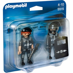 Playmobil Duo Pack 5515 Policias Original Intek